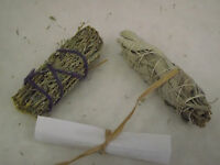 Sage Smudge White Sage And Desert Sage 2 Pack Plus Directions