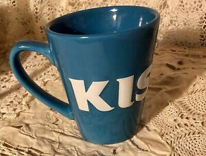 Hershey-Kisses-Coffee-Mug-Blue-Collectible-Hershey-s