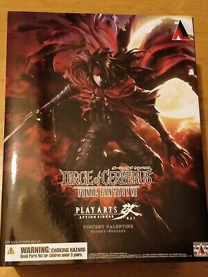 Significa Of Cerberus Final Fantasy Vii (7) Vincent Valentine Play Arts Kai Figura-mostra Il Titolo Originale