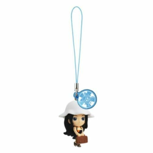 Bandai One Piece LOG MEMORIES Seasons Phone Strap Figure Beach Version