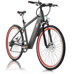 velo electrique elite 36v 250w pneu 26 trekking shimano fitfiu ebay. Black Bedroom Furniture Sets. Home Design Ideas