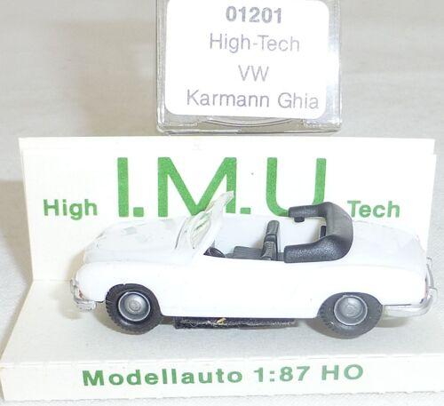 VW Carman Ghia Cabriolet weiß IMU EUROMODELL 01201 H0 1//87 OVP # HU6 å