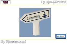 """Panneau Michelin En Béton """" Camping """" Rétro 87 - SAI 8416 - Echelle 1/87"""