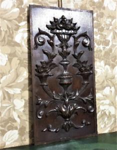 Home-abundance-symbol-panel-Antique-french-oak-carving-architectural-salvage