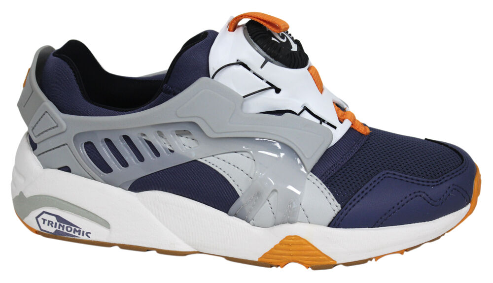 Puma Trinomic Disc Blaze Sports Womens Slip On Trainers  357526 02 P