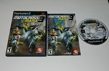 Motocross Mania 3 Sony Playstation 2 PS2 Video Game Complete