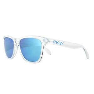 3384a1cad9 Image is loading Oakley-Sunglasses-Frogskins-OO9013-D0-Crystal-Clear-Prizm-