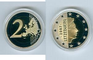 Luxemburg  2 Euro Kursmünze  PP/Proof  (Wählen Sie zwischen: 2003 - 2017)