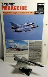 Del-Prado-diecast-escala-1-136-avion-de-combate-Mirage-III-C-Nuevo
