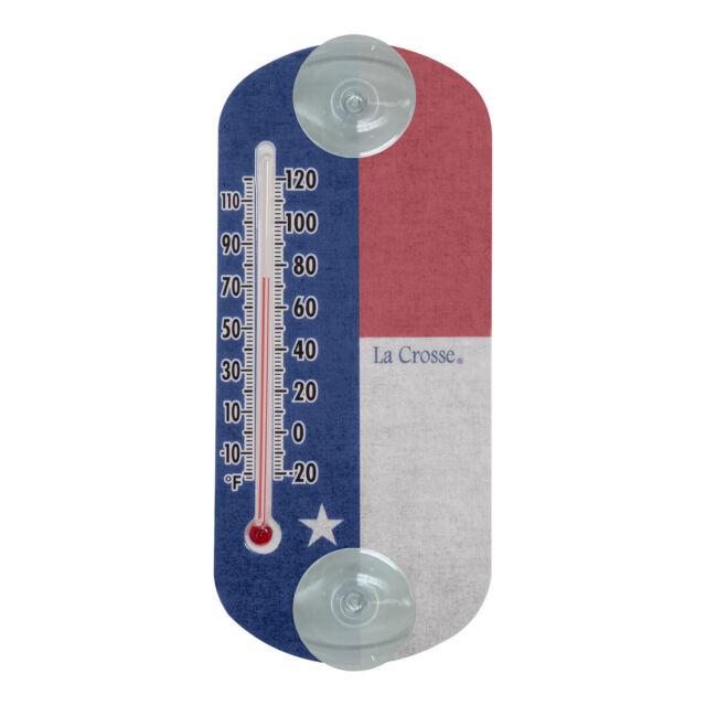 204 1520tx La Crosse 8 Tx Flag Indoor Outdoor Window Thermometer For Online Ebay