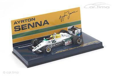 Williams Ford FW08C - Test Donington Park 1983 - Ayrton Senna - Minichamps 1:43