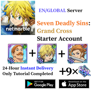 GLOBAL-Green-Escanor-Meliodas-Arthur-Seven-Deadly-Sins-Grand-Cross-Account