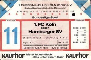 FC Köln 1 BL 81//82  Karlsruher SC