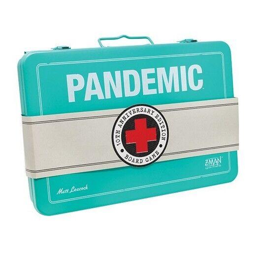 Pandemie Brettspiel, Brettspiel, Brettspiel, 10th Anniversary Edition, Neu, Italienische Ausgabe f0a902