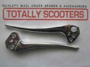 LAMBRETTA-PAIR-HANDLEBAR-LEVERS-S3-or-GP-LATER-THICKER-POINTED-TYPE
