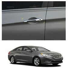 Chrome Luxury Door Catch Molding Handle Cover for Hyundai Sonata/i45 2011-2014
