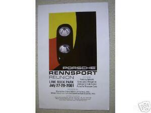 Porsche-Rennsport-FREE-Ship-906-908-917-911-Poster-lime-rock-race-print