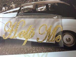 Help Me Gold Glitter Hochzeit Schuh Aufkleber Glitzer Wandleuchte
