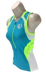 New Pearl Izumi Women/'s Elite In-R-Cool Tri SL Triathlon Jersey SZ S Small NWT