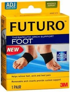 Nexcare-Futuro-Therapeutic-Arch-Support-Moderate-1-pair-Pack-of-2
