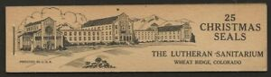 USA-1938-Lutheran-Sanatorium-Wheatridge-CO-TB-Xmas-Seal-Full-BOOKLET-F-VF-NH