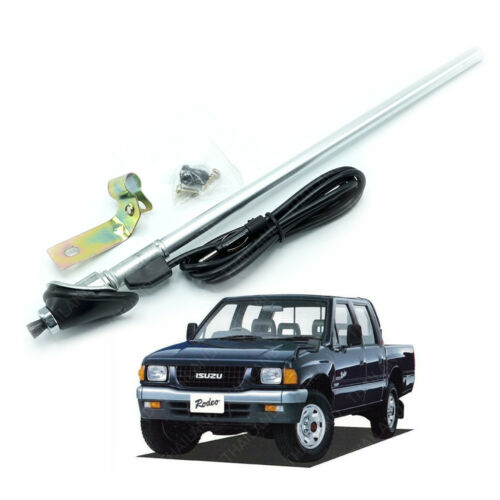 Roof Antenna Replacement Silver Fits Isuzu Holden Tfr Rodeo Pickup 1994-1997