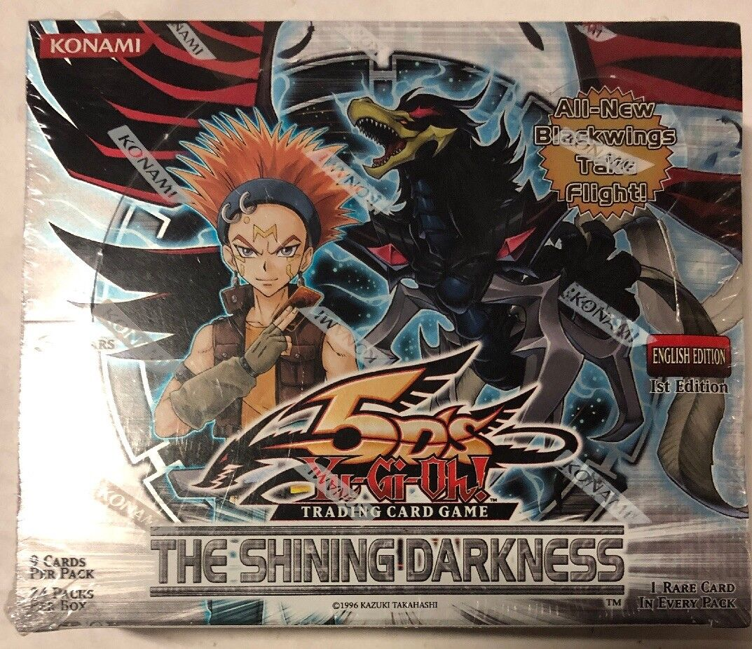 Yugioh The Shining Darkness 1st Edition Edition Edition 24-count Booster Box Card Game TCG 02790f