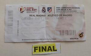 Entradas De Futbol Real Madrid Atletico De Madrid Ebay