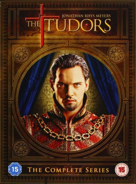 THE TUDORS SERIES 1-4 COMPLETE DVD BOX SET NEW AND SEALED SEASONS 1 2 3 4