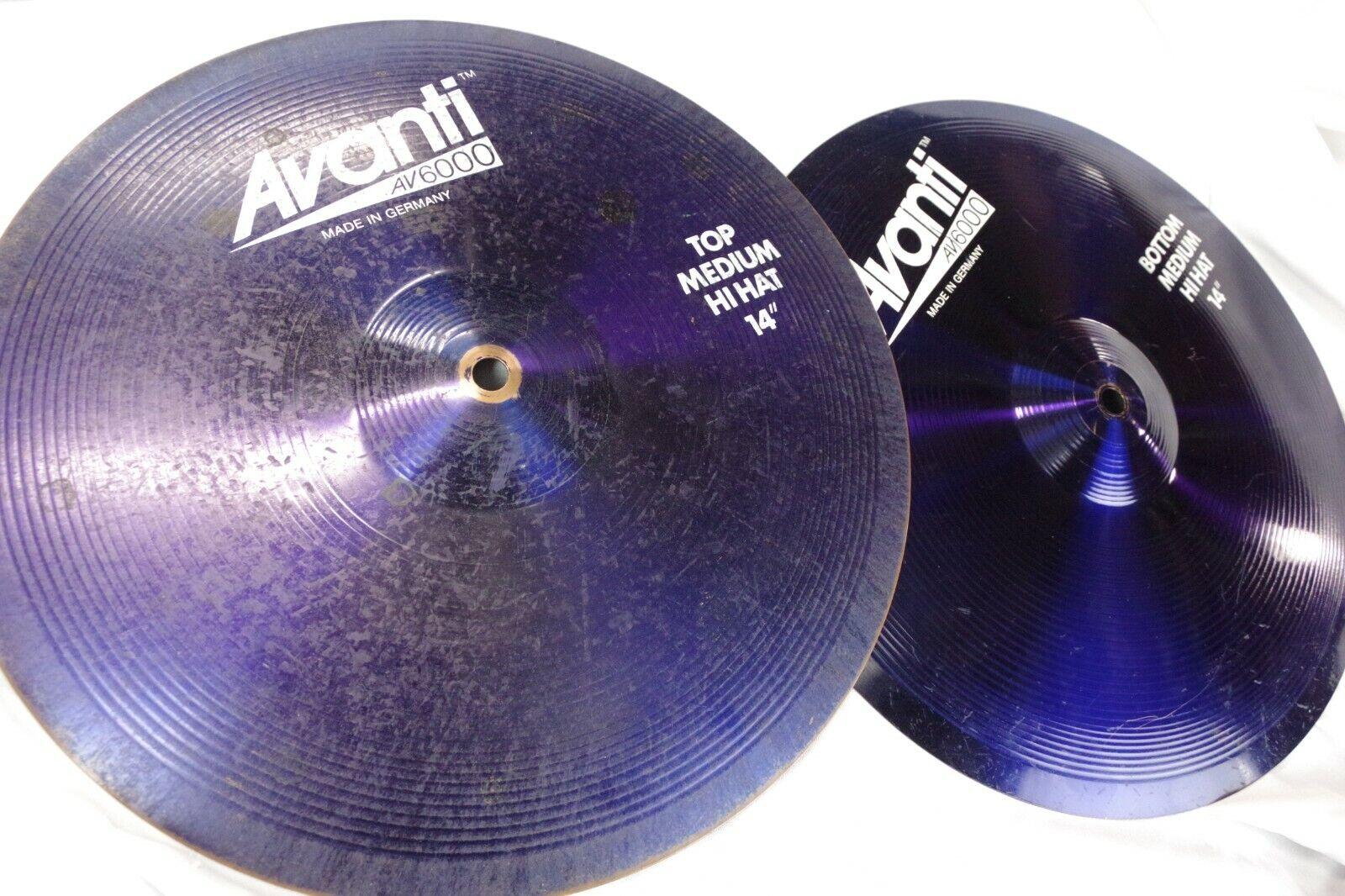 Avanti Blau colbalt 14 hi-hat cymbal Meinl Paiste