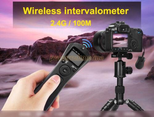Scatto Wireless Remote Control 2.4GHz per Canon 5D Mark III II 6D 7D