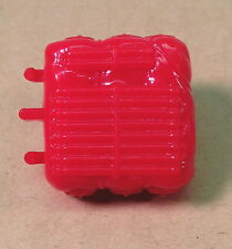 Storm Shadow v2~ Red Backpack~  Gi Joe Parts~ Vintage 1988  Hasbro~