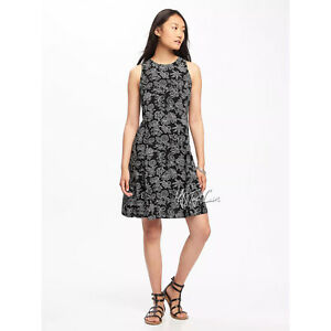 attractive price wholesale new list Details about NWT OLD NAVY Cute Soft Stylist Women's Sleeveless Summer  Swing Petite Dress S/P