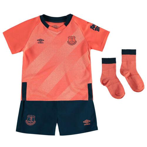 Umbro Official Kids Everton FC Away Baby Football Kit 2019-20