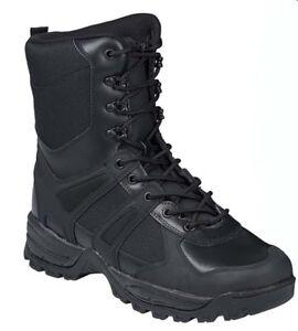 Anfibi stivali militari neri MILTEC Combat Boots GEN II in