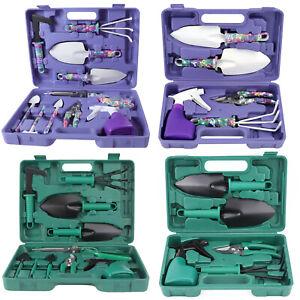 5/10pcs Garden Tools Set Gardening Kit Shovel Rake Pruning Shears Trowel Sprayer