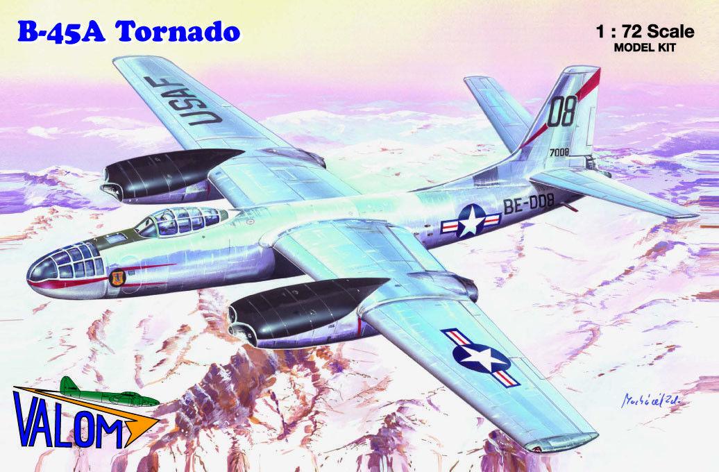 Valom 1 72 North-American B-45A Tornado