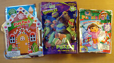 New Dora Feliz Navidad & Teenage Mutant Ninja Turtles Puzzles & Holiday Pack