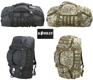Army Combat Military Operators Duffle Kit Bag Travel