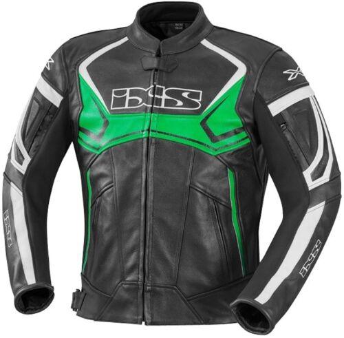 IXS Hype Herren Motorradjacke Sport Touring Lederjacke Thermofutter entfernbar