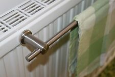 Edelstahl Handtuchhalter 40 cm Magnet Halter für Heizkörper Handtuchstange