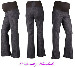MATERNITY-CLOTHING-JEANS-OVER-BUMP-12-14-16-18-20-22-24-Bootcut