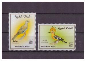 Maroc-Oiseaux-Minr-1175-1176-1990
