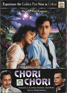CHORI-CHORI-Raj-Kapoor-NUOVO-Bollywood-Dvd-SPEDIZIONE-UK-GRATUITA