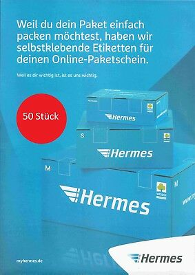 Treu 50 Hermes Versandetiketten Aufkleber Selbstklebend Zum Bedrucken A4