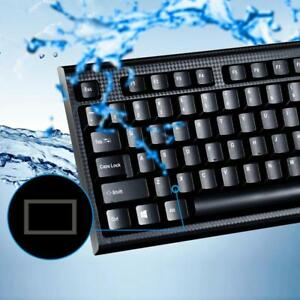 104-Keys-USB-PS2-Wired-Keyboard-Waterproof-Computer-Keyboard-for-PC-Laptop-Lot