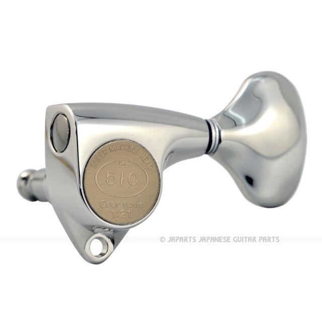 Gotoh SGV510Z-L5-NI L3+R3 21:1 Nickel Tuners