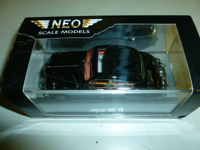 Die cast 1 43  NEO- mkvIII JAGUARD NEW WITH BOX