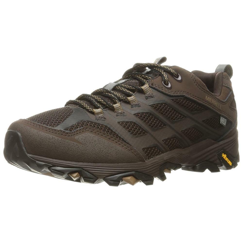 Merrell Men's NEW Moab Fst MegaGrip Waterproof Hiker shoes Hiking Trail Sneakers