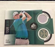 Hale Irwin 2013 SP Game Used Dual GOLF SHIRT 3 COLOR